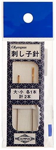 オリムパス製絲 刺し子針 2本入
