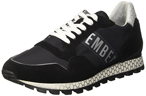 BIKKEMBERGS Herren Fend-ER 2076 Sneaker, Schwarz (Black 999), 43 EU