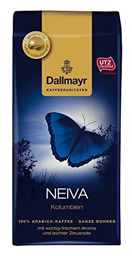 Dallmayr Kaffee Kaffeerarität Neiva Kaffeebohnen, 4er Pack (4 x 250 g), ganze Bohne