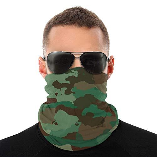 Bandeau, écharpe Bandana sans couture élastique camouflage armée verte, série de chapeaux de sport de résistance aux UV pour Yoga randonnée équitation motocyclisme
