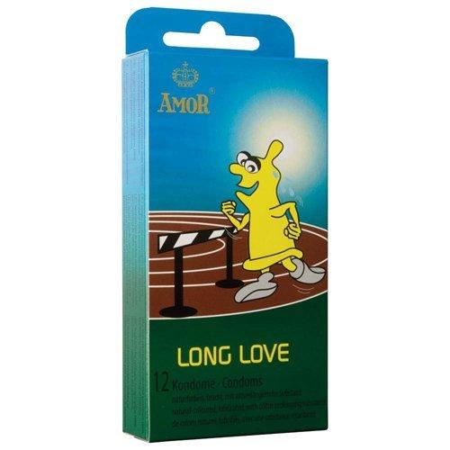Amor Long Love: 12 aktverlängernde Kondome (12 Stück)