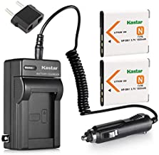 Kastar 2X Battery + Charger for Sony NP-BN1 & Cyber-Shot DSC-QX10 DSC-QX30 DSC-QX100 DSC-TF1 DSC-TX10 DSC-TX20 DSC-TX30 DSC-W530 DSC-W570 DSC-W650 DSC-W800 DSC-W830 DSC-W560 DSC-T99 DSC-TX5 DSC-W320