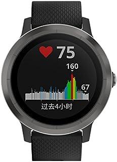 GARMIN 佳明 vivoactive3 遂空黑 光电心率GPS双星跑步骑行游泳运动触屏腕表 健康监测智能通知在线支付时尚情侣手表(表盘尺寸1.2'')