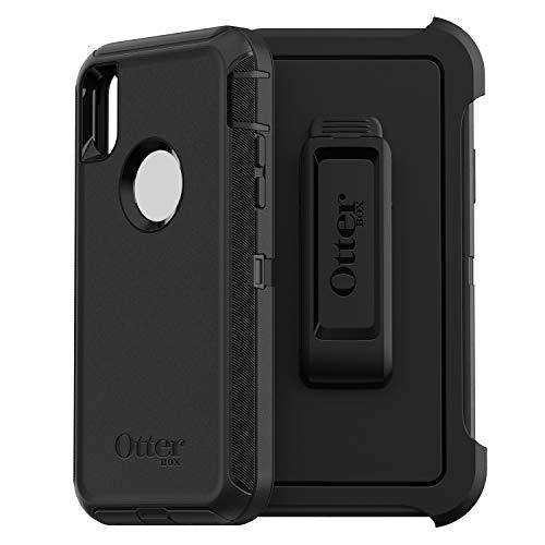 OtterBox 77-59971 Serie Defender Custodia Protezione Multistrato per iPhone XS Max, Nero