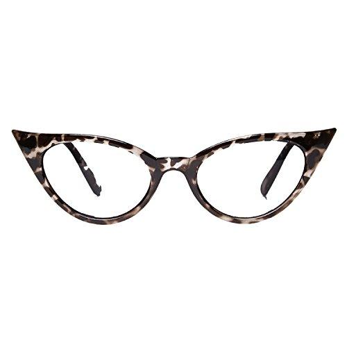 Accessoryo - Gafas de sol - Animal Print - para mujer Negro negro talla única