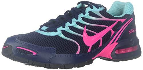 Nike Womens Air Max Torch 4 Running Shoe (10, Midnight Navy/Pink Blast)