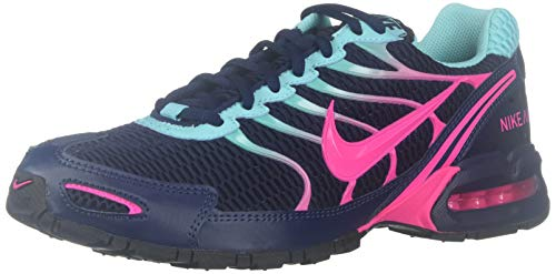 Nike Women's AIR MAX Torch 4 Running Shoe (9, Navy/Aqua/Pink)