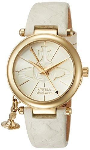 [ヴィヴィアンウエストウッド] 腕時計 ORBII ホワイト文字盤 白革 VV006WHWH レディース 並行輸入品 [並行輸入品]