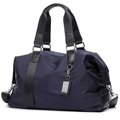 W Gym Bag Fitness Gym Bag Women Waterproof Tote Handbag Shoulder Crossbody Bags Travel Duffle Boarding Bag 14 inch Laptop Bag (Color : Blue Color, Size : A)