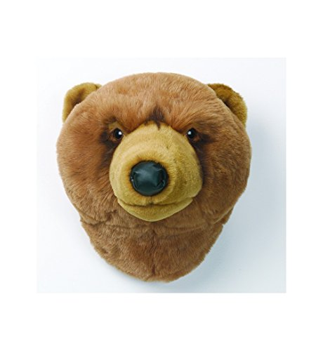 Trophée peluche Ours brun Oliver - Wild and Soft