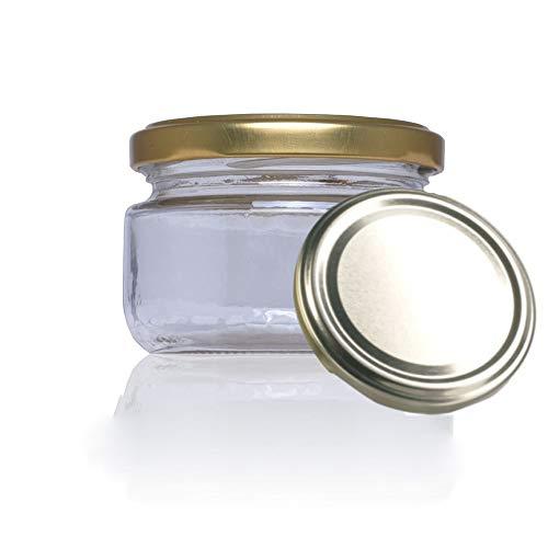 Tarro de cristal conservas chuches botes pequeños con tapa incluida recipientes para alimentos vasos para miel gominolas