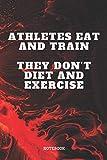 Notebook: Triathlon Sport Quote / Saying Triathlon Training Coach Planner / Organizer / Lined Notebook (6' x 9')