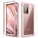 Dexnor Case for Samsung Galaxy Note 20 Ultra 5G 6.9 Inch (2020) Full Body Clear Protective Cover Shockproof Bumper without Built-in Screen Protector - Baby Pink