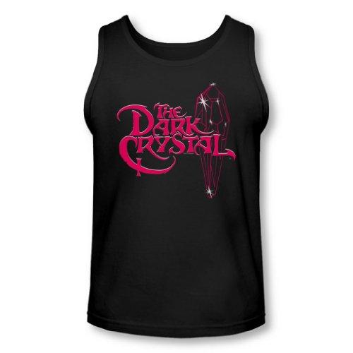 Dark Crystal - - Logo lumineux Tank-Top pour hommes, XX-Large, Black