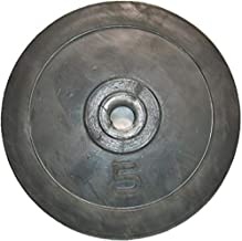 Emfil Rubber Gym Weight Plate dumbbell 5 kg