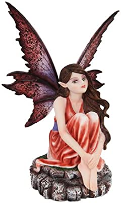 Flower Fairy Tahiti Young Damsel Middle Earth Fantasy Small Figurine Sculpture