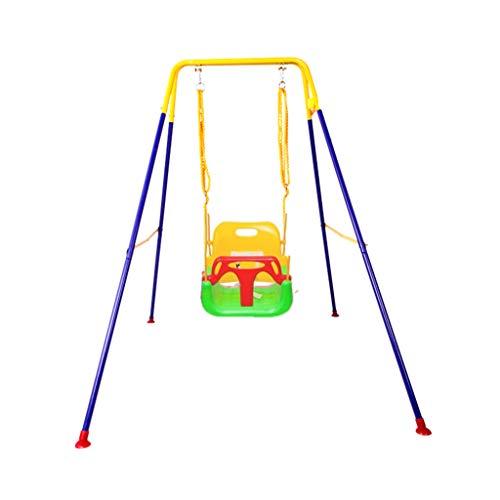 Balançoire intérieure, siège de jardin extérieur multifonctionnel de ménage soulève l'oscillation de support de pli de terrain de jeu de parc d'attractions ( Couleur : A , taille : 110*160*173CM )