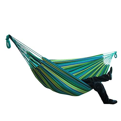 FGJH Amaca Portatile Amaca Pratica Pratico Comodo Giardino Giardino Camping Sleeping Swing Swing Letto 728 (Color : 05, Size : 150 * 200cm)