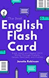 The Best English Flash Card Book: Learn and Master 2000 Words Through Posters, Games, Exercises, and Puzzles (English Flash Cards Book 5) (English Edition)