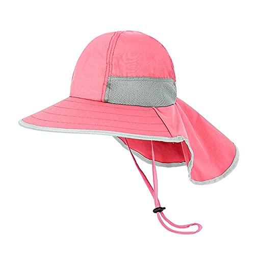 iSunday Sombrero de sol para niños y niñas, verano, protección solar, de secado...