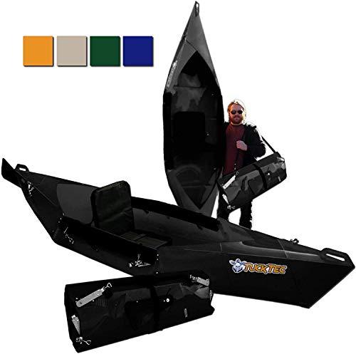 Tucktec Advanced 2020 Model 10 Foot Foldable Kayak Folding Canoe, Portable...