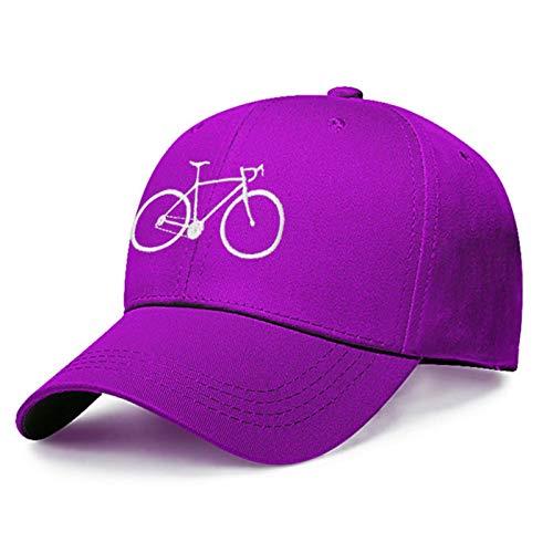UKKD Gorras de béisbol para hombre Commuter Bike Bordado Gorra de béisbol Mujer Algodón Dad Sombrero de Verano Ajustable Bordado Snapback Gorra Hombres