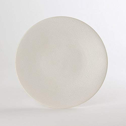 Table Passion - Assiette à dessert Vésuvio blanc 20.5 cm (Lot de 6)