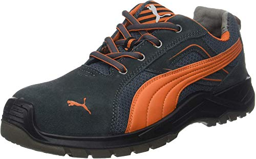 Puma Safety Footwear Mens Omni Flash Low Lace up S1 Safety Trainers