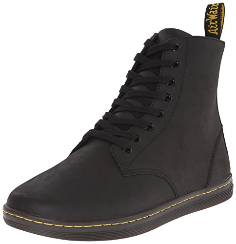 Dr. Martens Men's Tobias Boot,Black Greasy Lamper,9 UK/10 M US