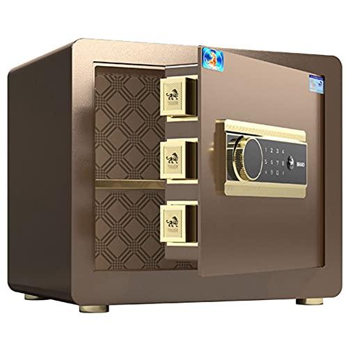 Cajas fuertes de oficina, cajas fuertes electrónicas con contraseña, cajas fuertes de pared, caja fuerte para el hogar/hotel/viajes/A / 42cm×32cm×35cm