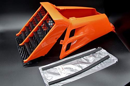 New Vito's Yamaha Banshee Plastic Gas Tank Side Covers + Grill 1987-2006 Orange