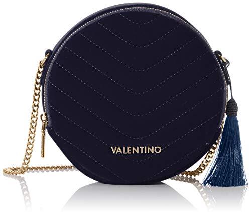 Mario Valentino Valentino by Damen Carillon Umhängetasche, Blau (blu), 5.5x18x18 cm