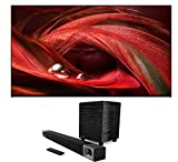 SONY XR65X95J 65' Bravia XR 4K HDR Full Array LED Smart TV with a Klipsch CINEMA-400 2.1 Sound Bar with an 8' Wireless Subwoofer (2021)
