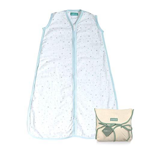 molis&co. Saco de Dormir para bebé 100% algodón. Ideal para Verano (0.5...