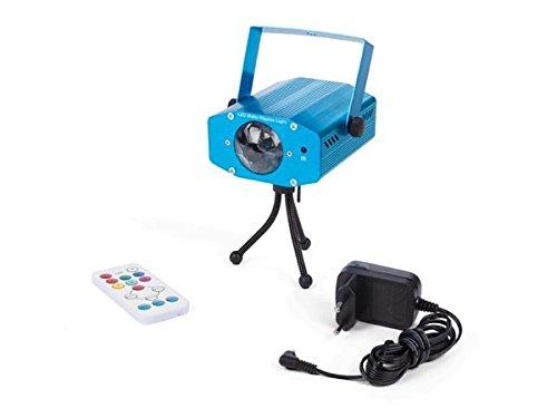 HQ-Power hqle10028 Water Light de 7 Couleurs – 12 W LED RGBW 4 en 1, Bleu, 11,7 x 9,1 x 5,1 cm
