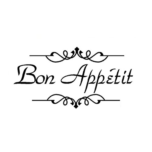 OVERMAL Decor,1PC Removable Art Vinyl Mural Wall Stickers Wall Decal Room Home Decor (I can do) (Bon Appetit)
