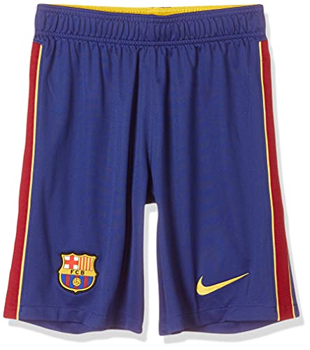NIKE FC Barcelona Temporada 2020/21-FCB M NK BRT STAD Short HACD4281-455 Pantalon Corto, Unisex, Deep Royal Blue/Varsity Maize no Sponsor, L