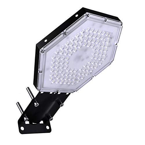 Sararoom 100W luce della baia alta LED, 6000-6500K illuminazione stradale a più luci, IP65 impermeabile esterna a LED, utilizzata per strade, piazze, stadi, ristoranti, ecc. (Luce bianca fredda)