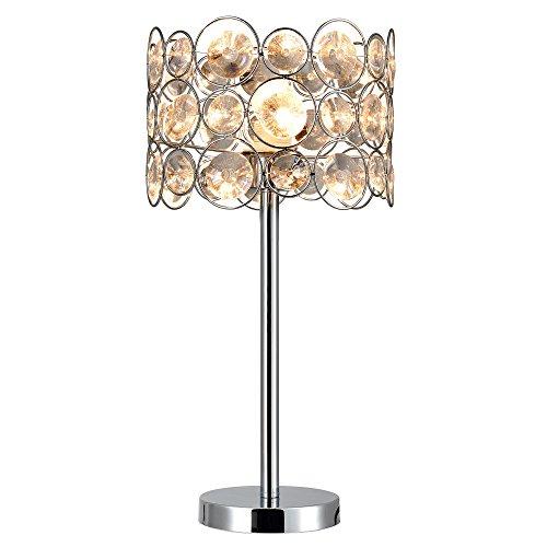 [lux.pro] Lampada da tavolo - Dora - (1 x E27 portalampada)(45cm x Ø 26cm) lampada da tavolo lampada da comodino lampada da scrittoio