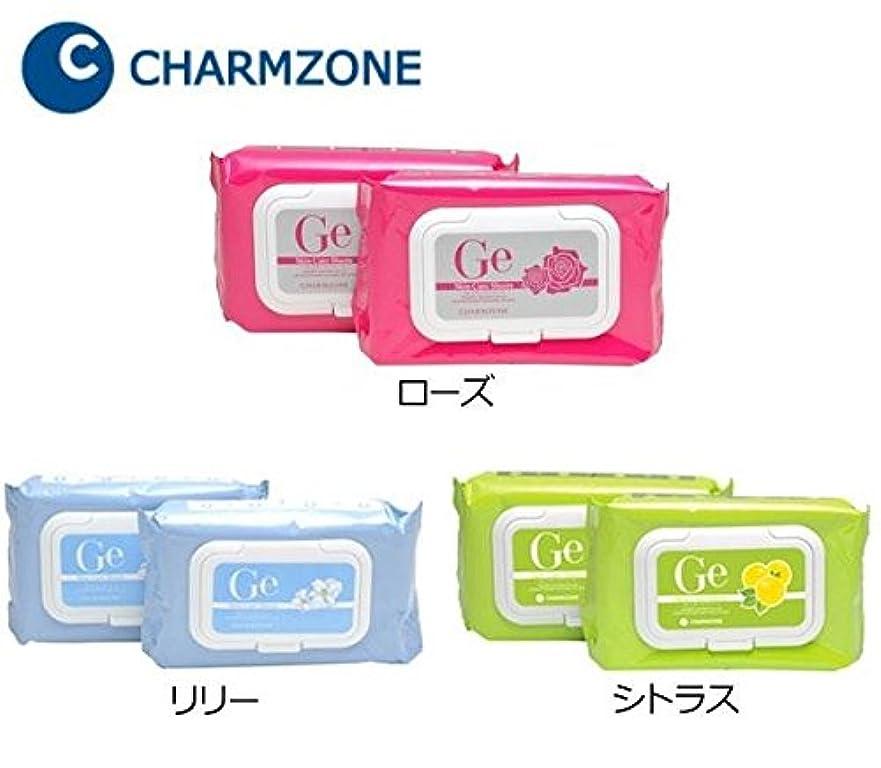 終了しましたメモ私たちのものチャームゾーン Geスキンケアシート 120枚(1包60枚×2個) ローズ 化粧品 スキンケア ベーシック パッ