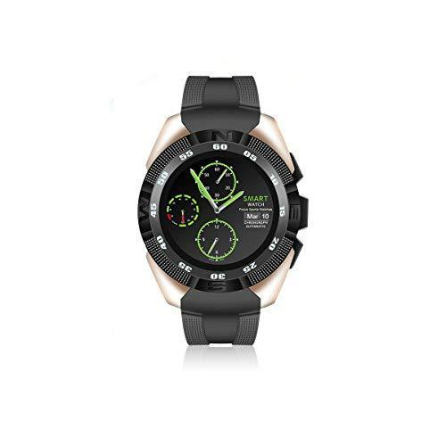 Qimaoo Smart Watch G5 Reloj Inteligente Bluetooth 4.0 Fitness Tracker IP67 Reloj Deporte Inteligente,Monitor de Frecuencia Cardíaca,Podómetro,Monitor de Sueño para iOS o Android