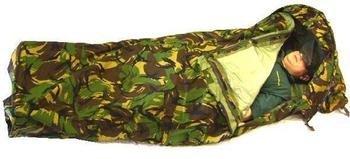 Dutch Goretex Bivak Bivvy Bag (Tent), Military Issue Woodland Camo w/...