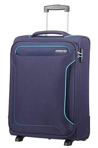 American Tourister Holiday Heat Upright 55/20 Length 35cm, 39 L - 2.5 KG Equipaje de Mano, 55 cm, Liters, Azul (Navy)