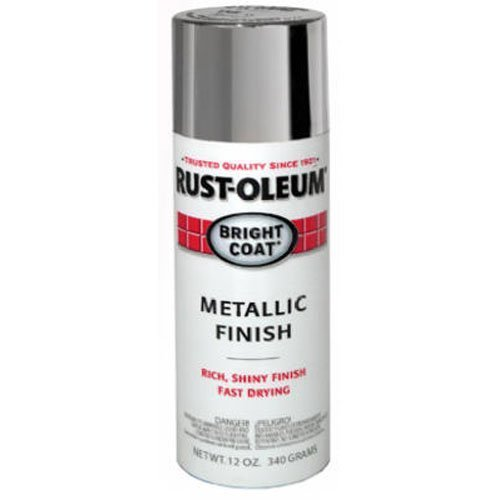 Stops Rust Bright Coat Metallic Spray Paint, 11 oz, Aluminum - Rust-Oleum 7715830