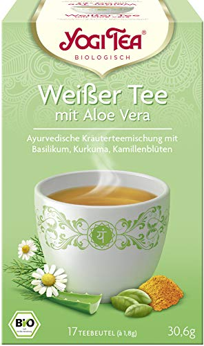 Yogi Tea Bio Yogi Tea Weißer Tee mit Aloe Vera Bio (2 x 17 Btl)