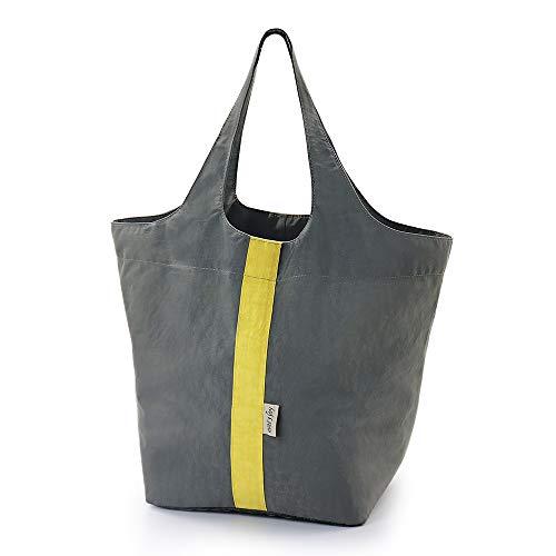 折りたたみ コンパクトバッグ ショッピングバッグ エコバッグ 買い物袋 コンビニバッグ 肩から提げれる ビッグサイズ 防水 (Lサイズ)