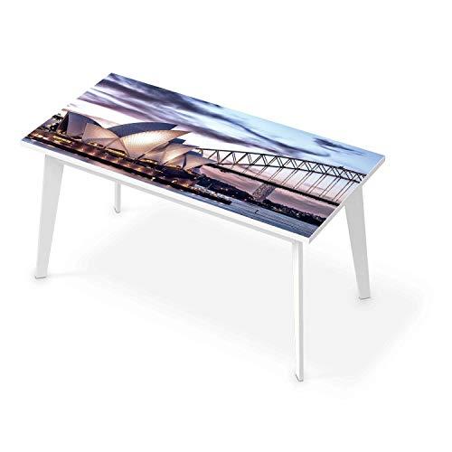 Tisch Sticker Dekoaufkleber I Tischaufkleber Folie - Möbelfolie abwaschbar I Dekoration Küchentisch - Design: Sydney