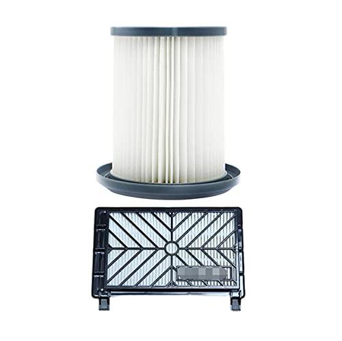 XUNLAN durable 2 unids Partes de aspirador Accesorios filtros+12 cm elemento de filtro ajuste para Philips FC8712 FC8714 FC8716 FC8720 FC8722 filtro HEPA usable