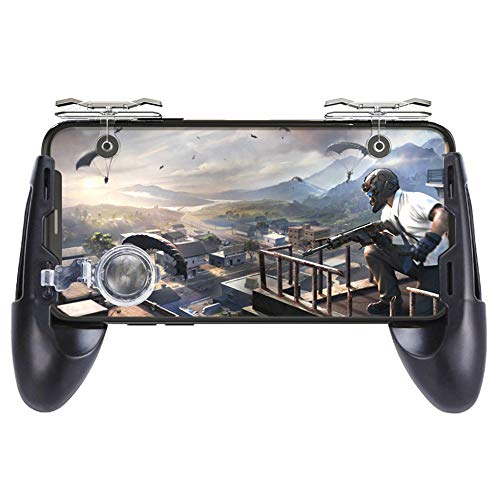 DishyKooker Joystick Gamepad para Mando móvil L1 R1, Mando de Disparo Gamepad para Knives out Trigger Fire Game Joystick Productos electrónicos para Regalos
