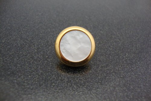 Jupiter XO Series Trumpet Finger Button with Pearl in Gold